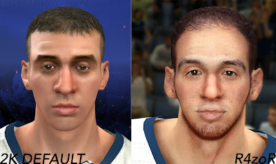 Face Comparison: Default vs Mod