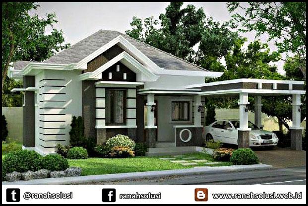 Gambar Desain Rumah Minimalis Type 70