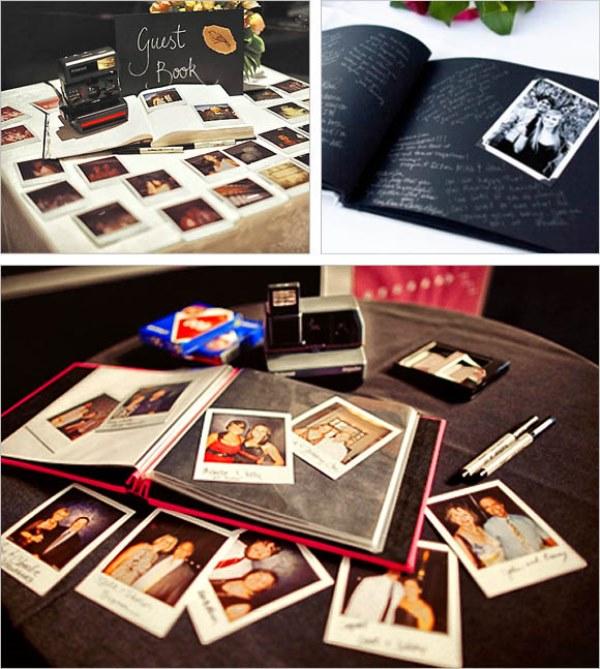 Buku tamu berupa foto lebih berkesan
