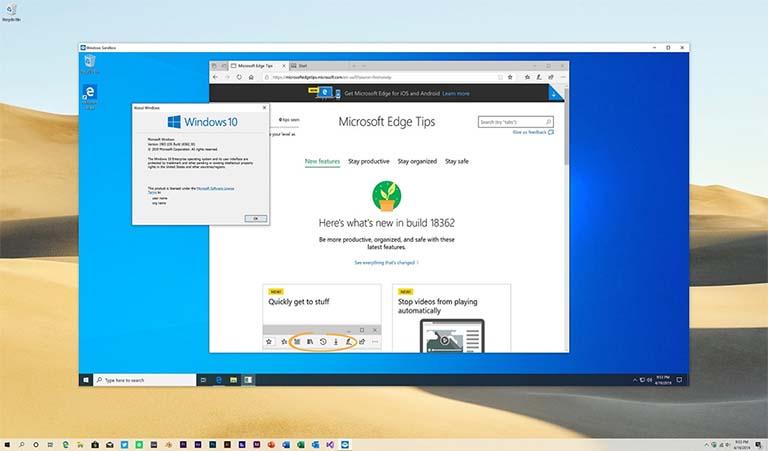 Mengenal Lebih Dalam Tentang Fitur Sandbox Di Windows 10 May 2019 Update