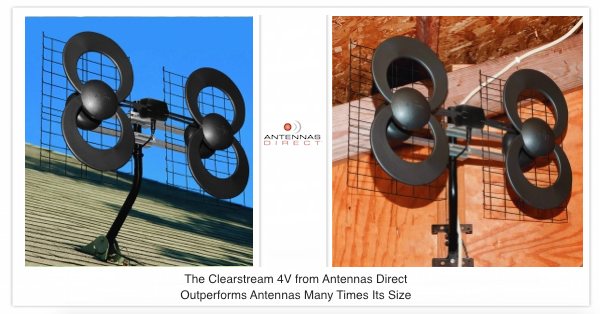 Long range attic antenna Clearstream 4v