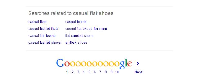 Google ofrece en sus 'Búsquedas relacionada' las palabras y frases clave más buscadas