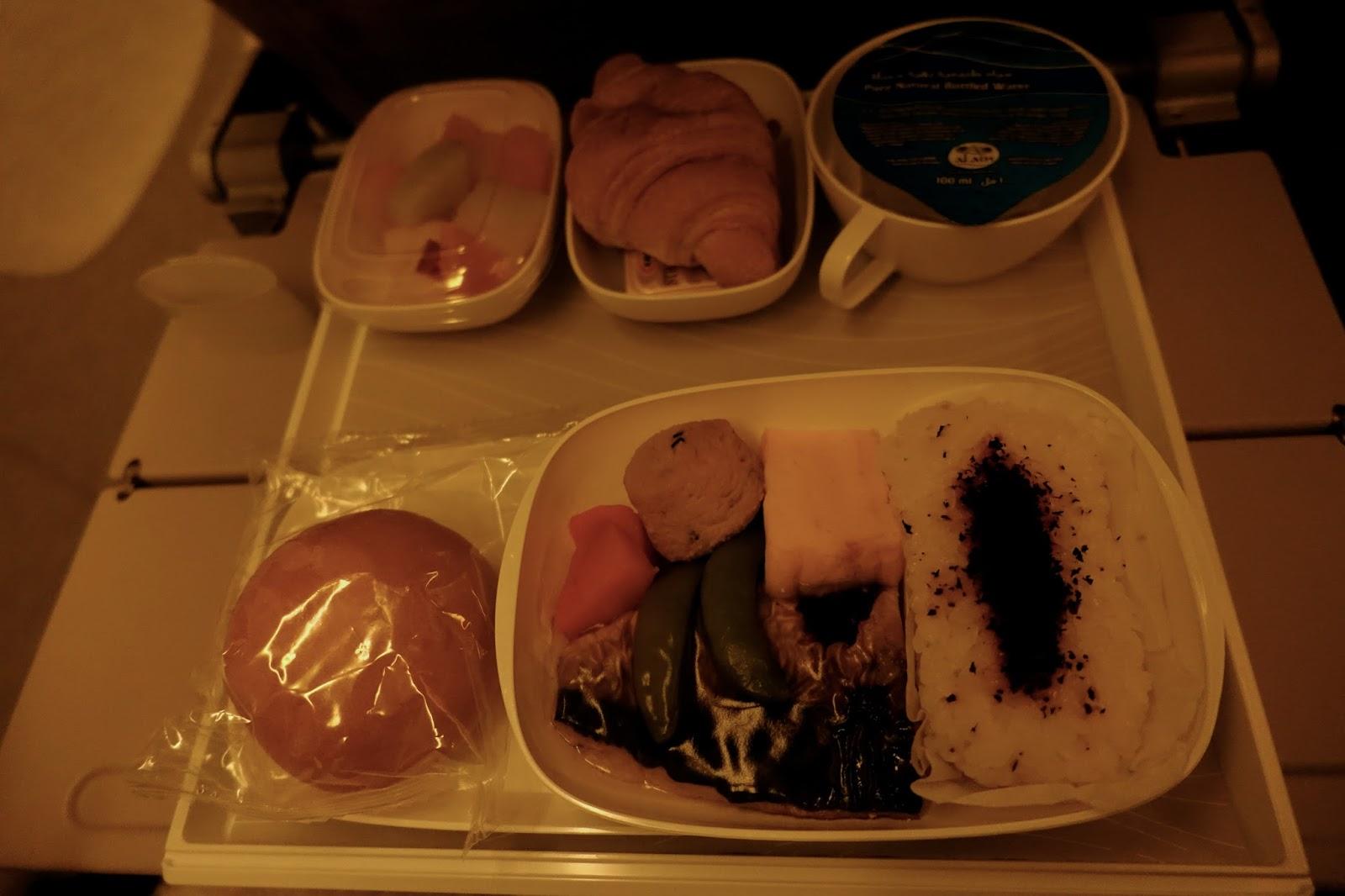 機内食3 朝食(和風)