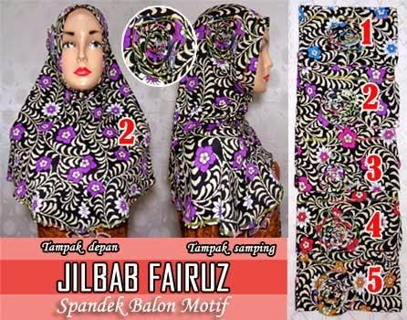 grosir-jilbab-syria-motif-bunga-bahan-spandek-balon-murah