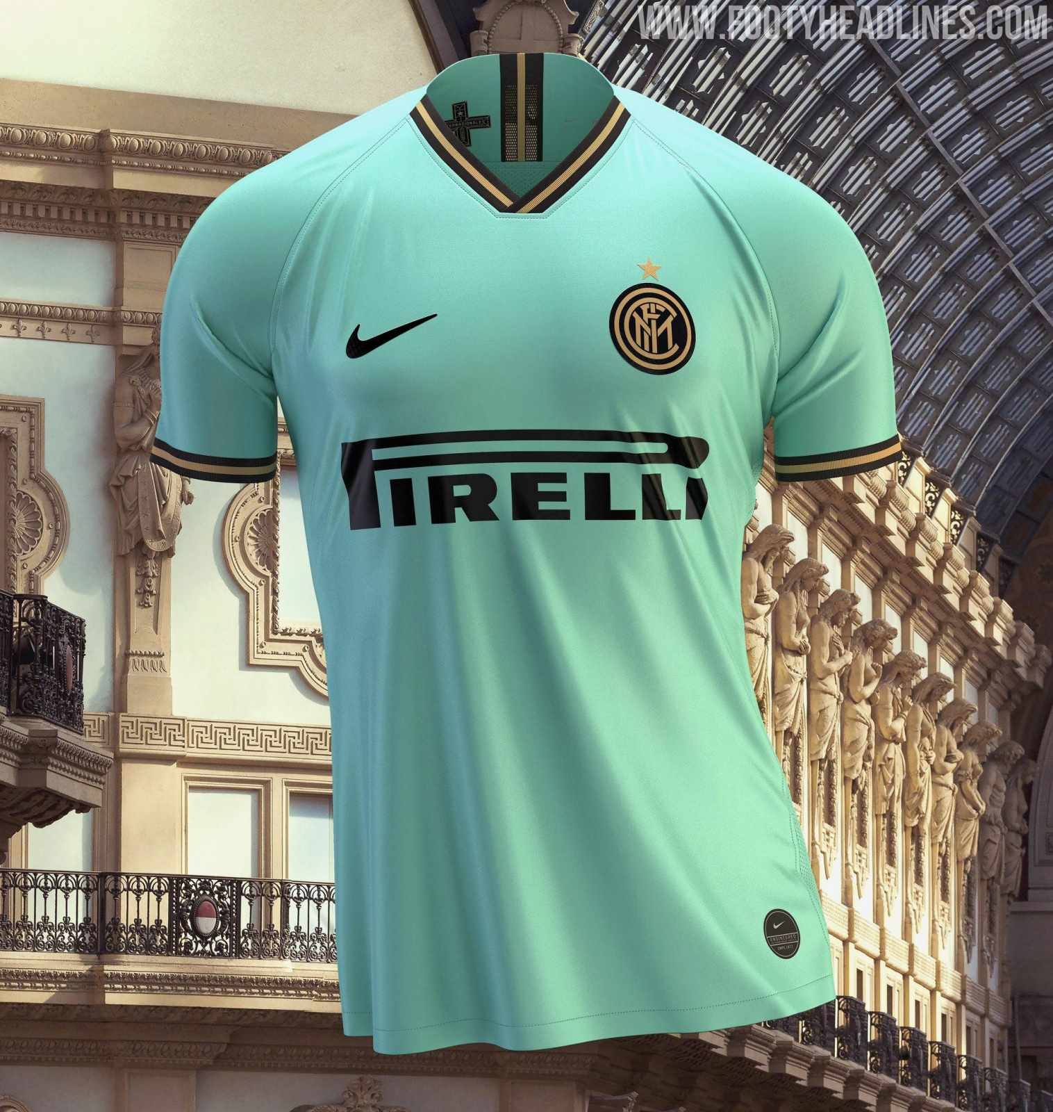 separation shoes ecf80 4bc5d Nike Inter Milan 19-20 Away Kit Revealed - Footy Headlines