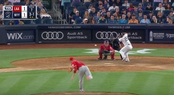 #VIDEO: Noveno Jonron de Gleyber Torres pone a ganar a los #Yankees -  Mira sus Numeros en #MLB