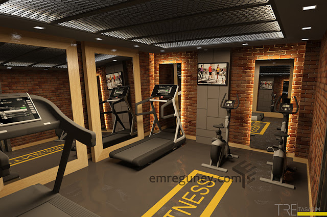 butik otel küçük fitness