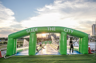 SLIDE THE CITY SPLASHES BIG WITH FIRST EVER NIGHT SLIDE IN SOUTH EAST ASIA!