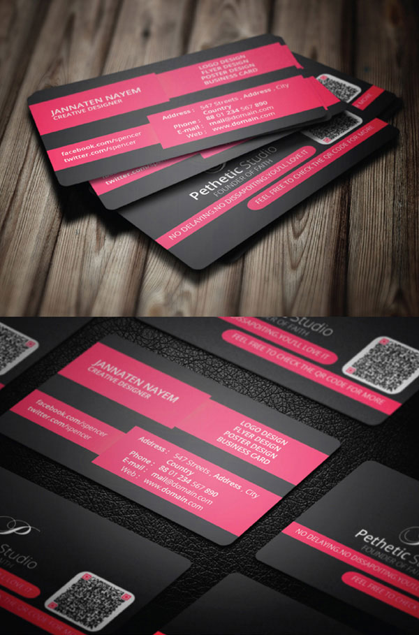 Creative Business Card PSD Template