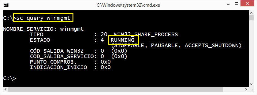 Windows: Servicio WMI y reglas al firewall