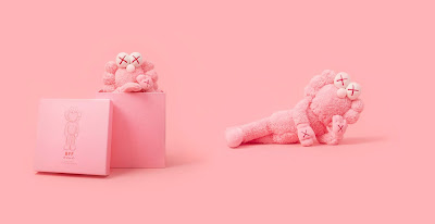 BFF Pink Edition Plush by KAWS