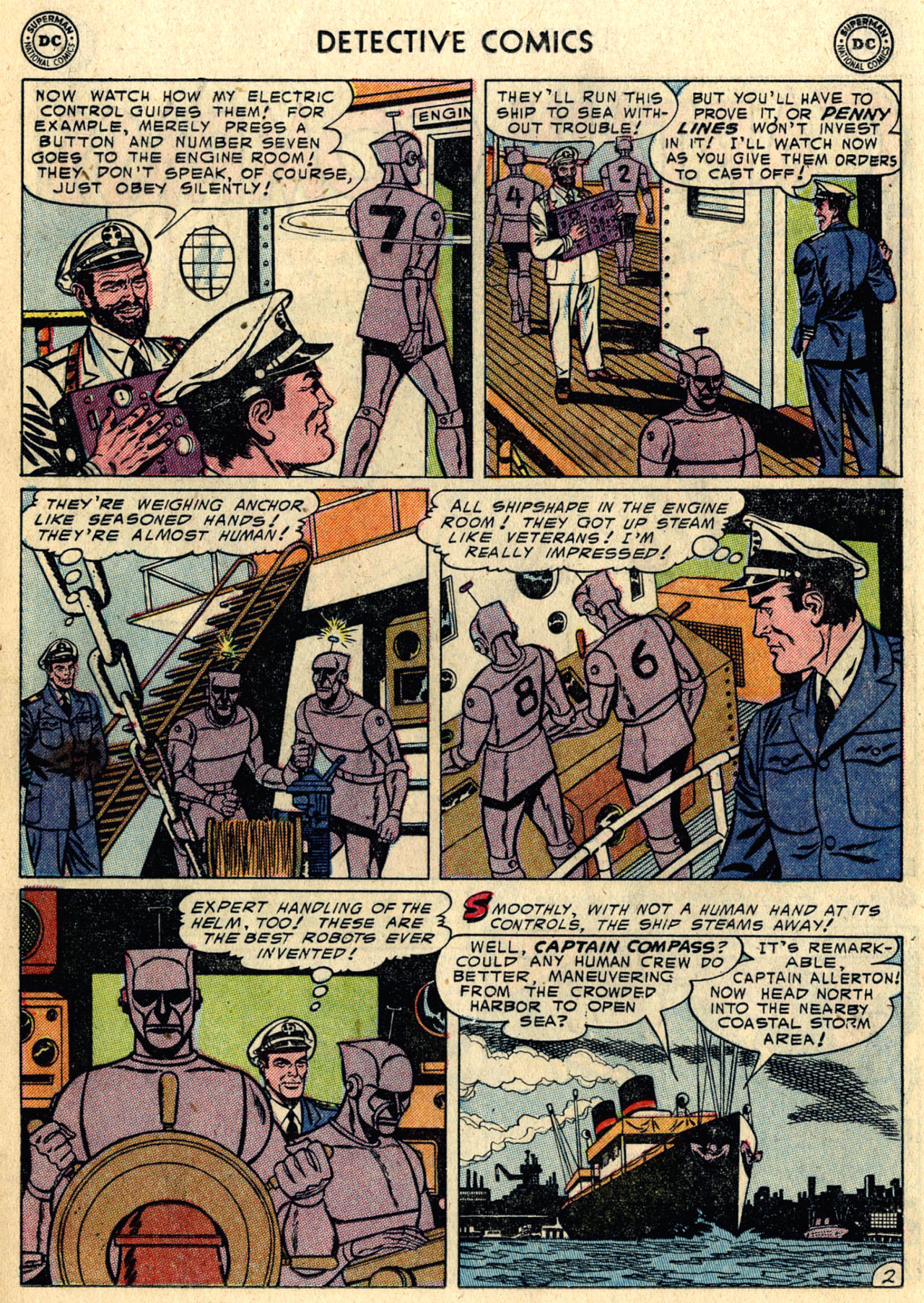 Read online Detective Comics (1937) comic -  Issue #216 - 18