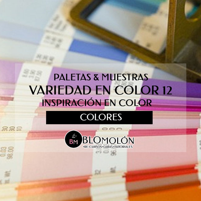 Variedad En Color 12 Paletas & Muestras