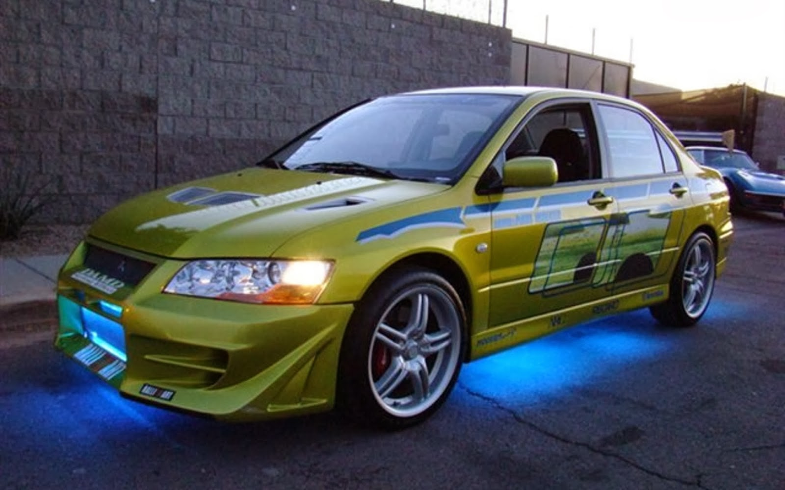 Brian Oconnors Evo ZionCars: Carro...