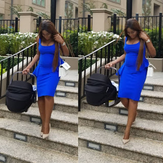 Mum of one! ''Easy pregnancy, easy delivery'' -Linda Ikeji step's out in smiles (Photos)