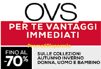 Logo Con OVS iniziano i presaldi con sconti fino al 70%