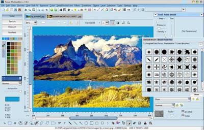 تنزيل برنامج الكتابة على الصور Focus Photoeditor للكمبيوتر
