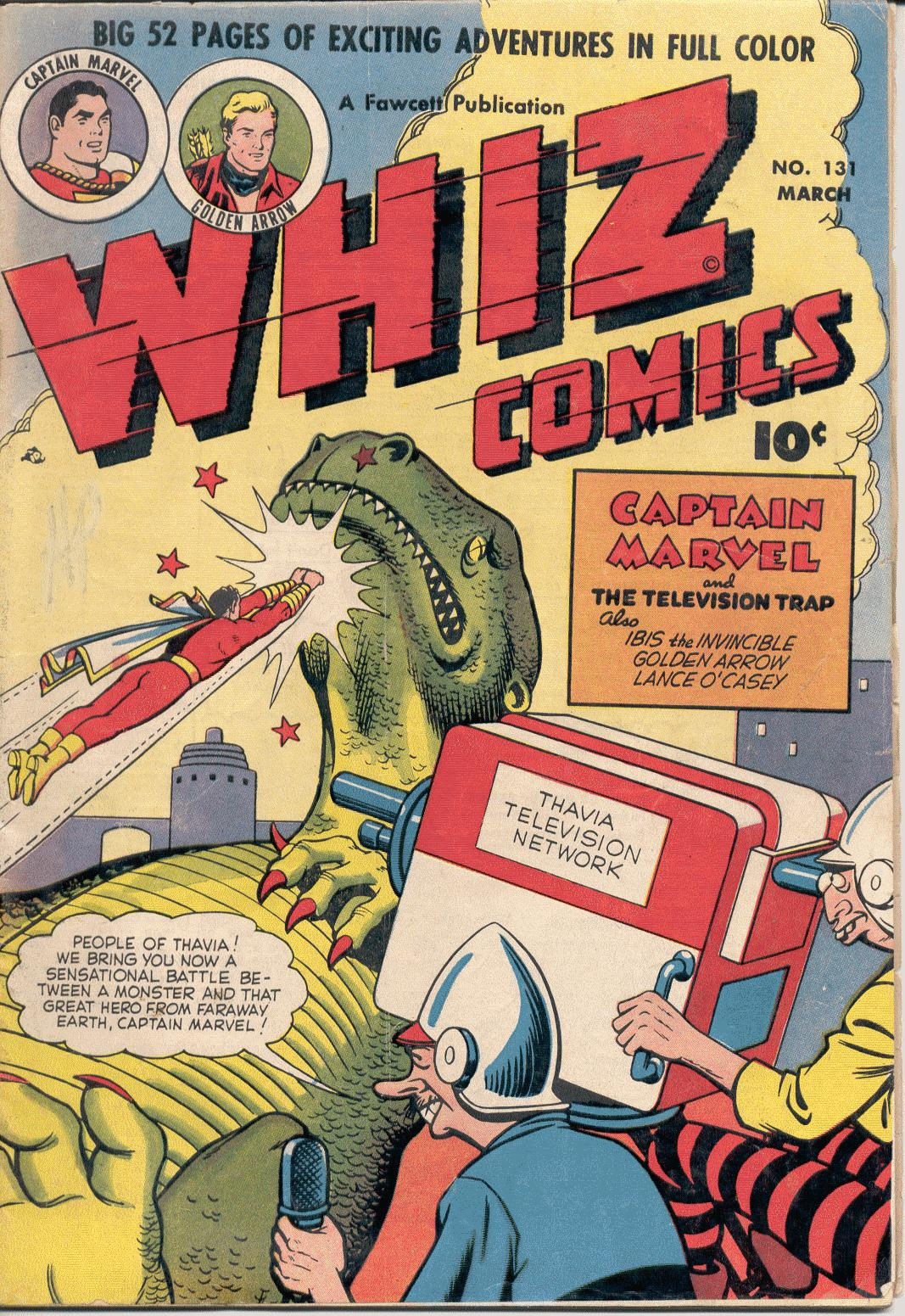 WHIZ Comics issue 131 - Page 1