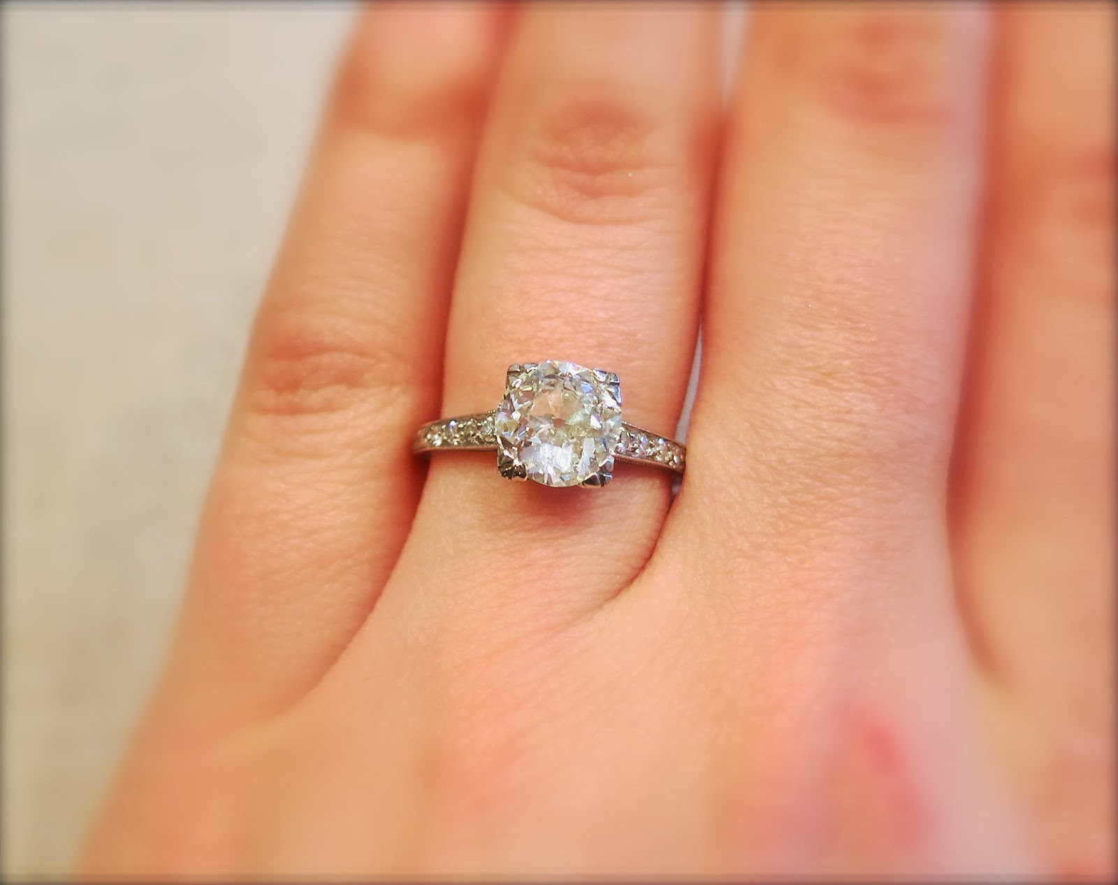 A Carat   A Half. Back to our engagement rings ... 2ea2490b77