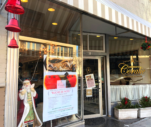 Patisserie Coralie in Evanston, Illinois is the spot for French pastries and a spot of tea or coffee