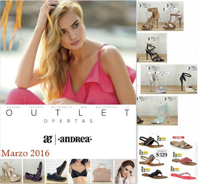 catalogo andrea outlet marzo 16