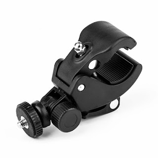 GoPro SJCam Phone Bike Bicycle Handlebar Clamp with Quick Release and Mount