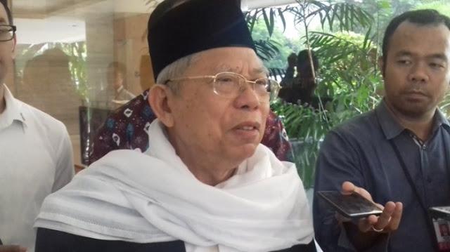 Ma'ruf Amin: PBNU Tidak Pernah Ancam Jokowi untuk Dapatkan Kursi Wapres