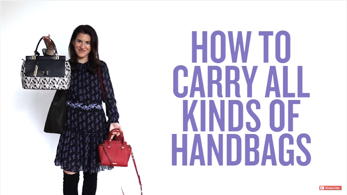 Tips Cara Memakai Berbagai Jenis Handbag Yang Benar