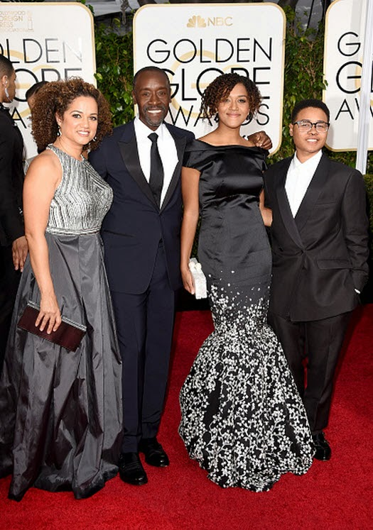 Bridgid Coulter Photos - Don Cheadle And Family Out And ... |Don Cheadle Family 2014