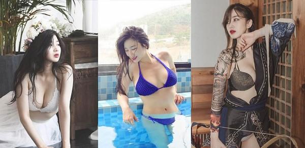 Cận cảnh thân hình nóng bỏng của mc trực tuyến Kim Woo Hyun