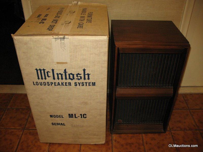 Internet Superstores Mcintosh Ml 1c Speakers Ml1c