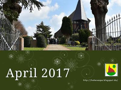 April 2017 eine Gemeinde stellt sich vor