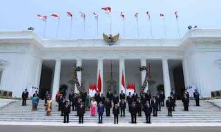Daftar Nama Menteri Kabinet Jokowi Terbaru Indonesia Maju