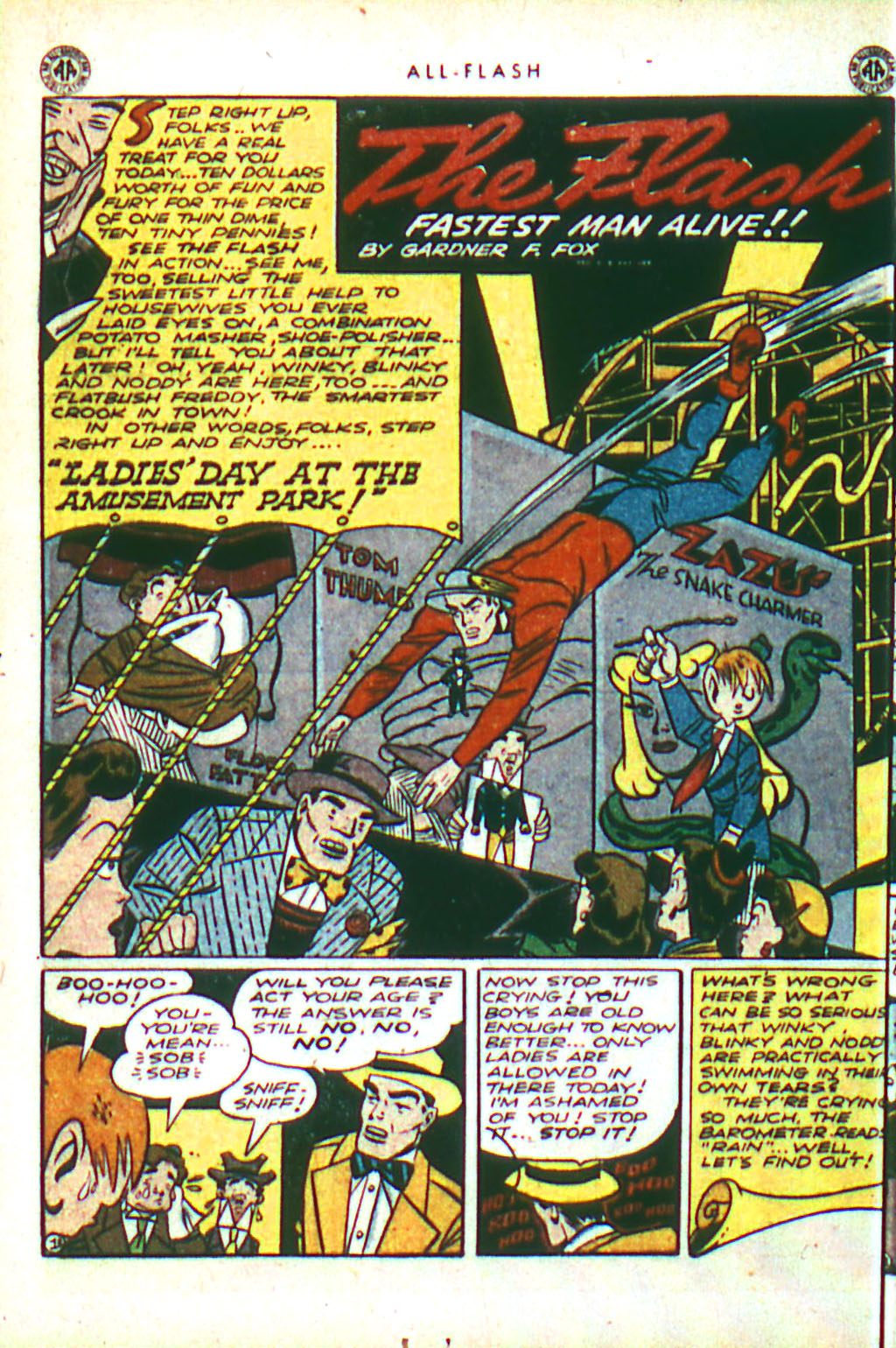 Read online All-Flash comic -  Issue #18 - 18
