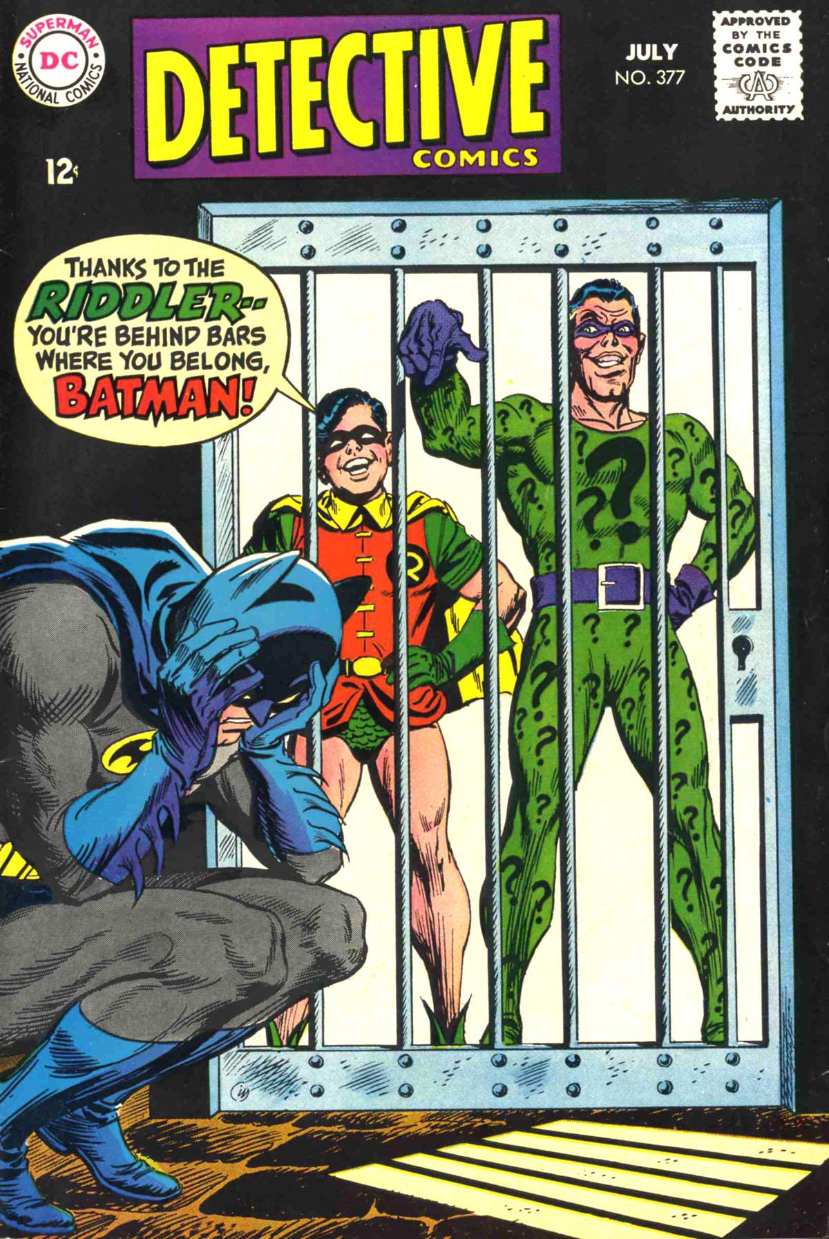 Detective Comics (1937) 377 Page 1