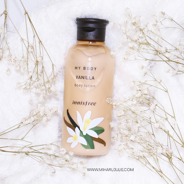innisfree my body vanilla body lotion review