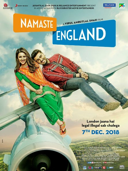 Namaste England 2018 Hindi HDRip 400MB MP3 MKV