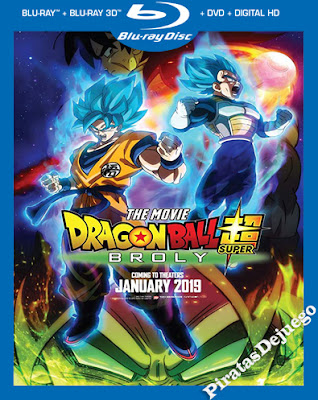 Dragon Ball Super: Broly (2018) HD 1080P Latino