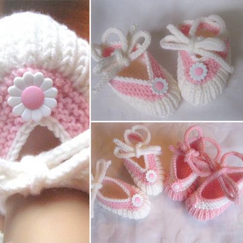 Baby Ballerinas - Free Pattern