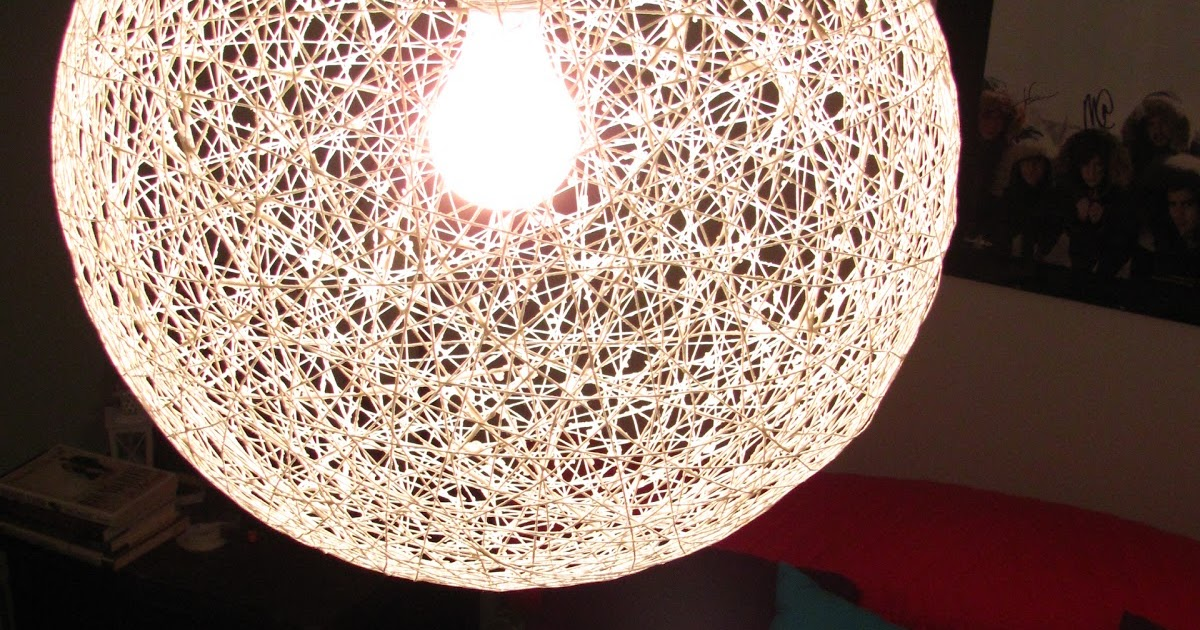 Source Carey Creates Diy String Chandelier