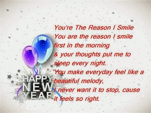 Famous Happy New Year Poems For Boyfriend 2015 Free Quotes Poems