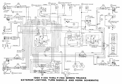 1966 ford pick up horn wiring diagram 2005 ford pick up trailer wiring diagram