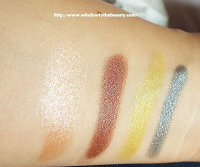foilled mug makeup geek swatches