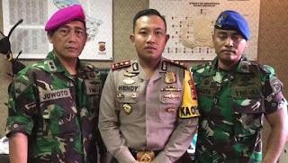 Buntut, Singgung Marinir dan Panglima TNI Kapolres Kerawang Dicopot