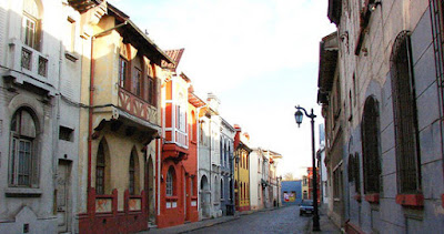 Barrio Yungai en Santiago de Chile