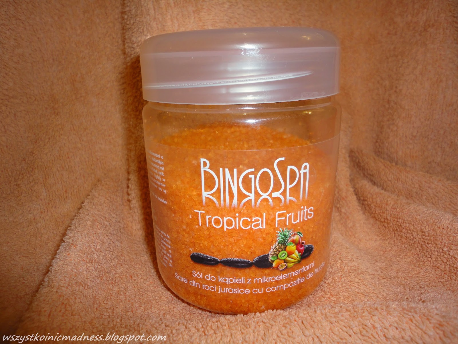 BingoSpa tropikalna sól do kąpieli z mikroelementami