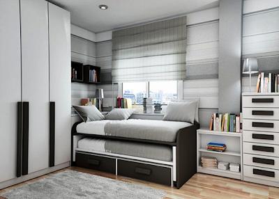 15 Desain Tempat Tidur Minimalis Modern Terbaru 2016 - 015