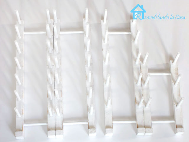 dowels plate rack