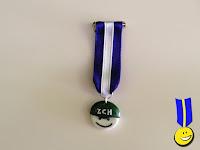Medalla con logotipo de Zafarrancho