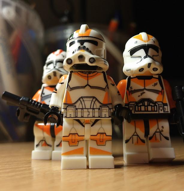 Оранжевый батальон, 212 батальон, клоны, фигурки лего купить